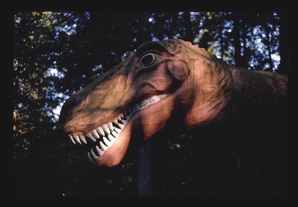 <em>Dinosaur Gardens</em>, Route 23, Michigan, 1988.