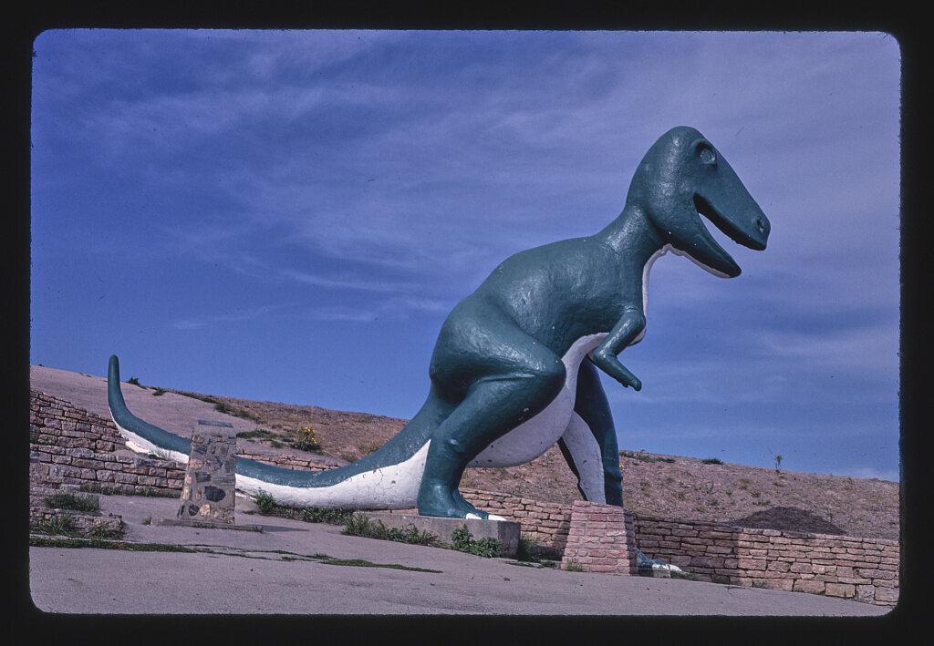 <em>Tyrannosaurus, Dinosaur Park</em>, South Dakota, 1987.