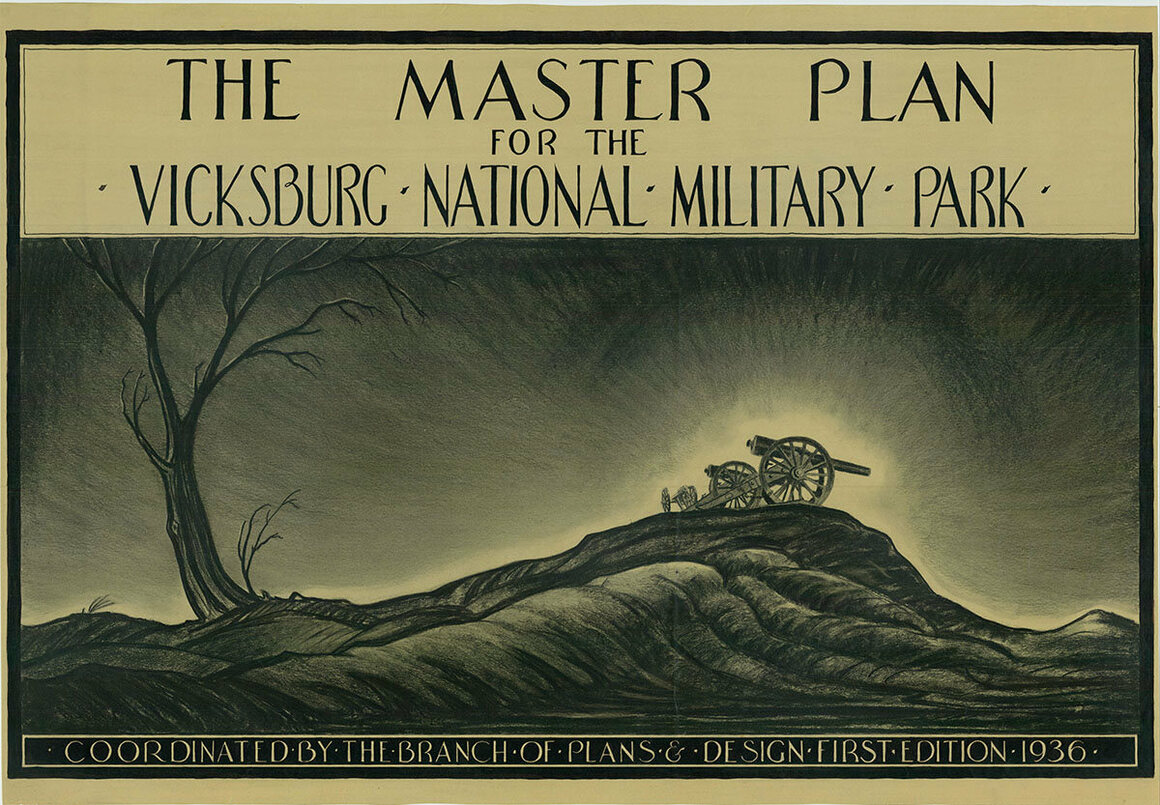 The 1936 Master Plan for Vicksburg National Military Park, the first complete edition.