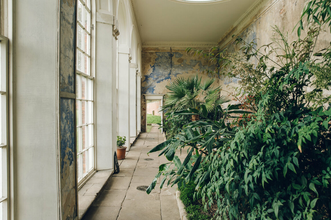 """At Calke Abbey in Derbyshire, England, there are """"mysterious tunnels"""" and """"an almost-forgotten orangery."""""""