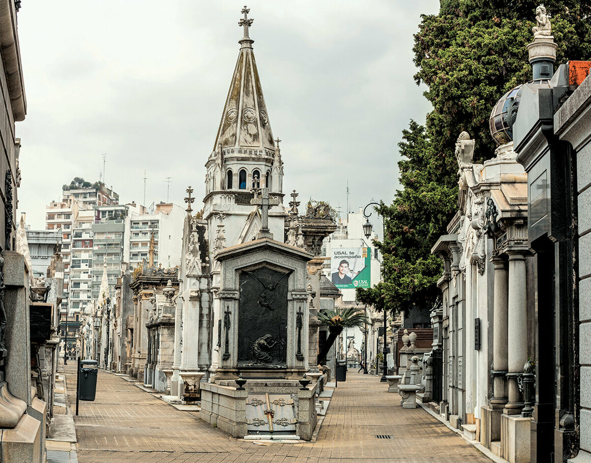 La Recoleta, Buenos Aires, Argentina.