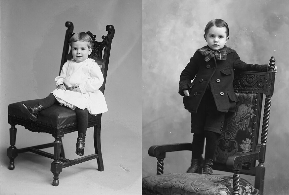 Before a boy's breeching, he was simply a child; afterward, he was a boy, well on his way to becoming a man, c. 1903–05.