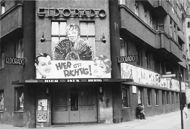 The Eldorado, a popular Berlin transvestite bar, in 1932.