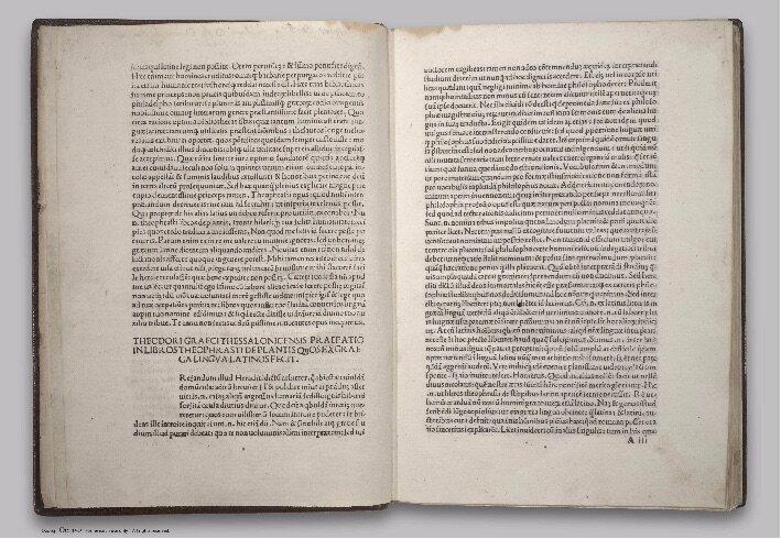 <em>Historia Plantarum</em>.
