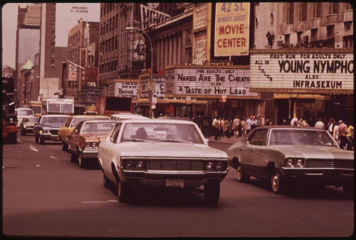 1970s Manhattan, Appleberg says, is as foreign to the city today as Mars.