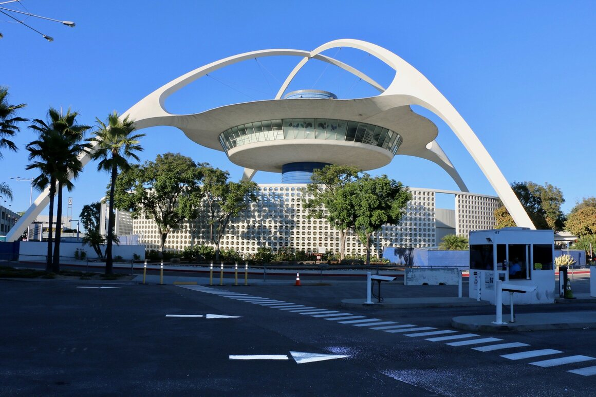 LAX's Theme Building.