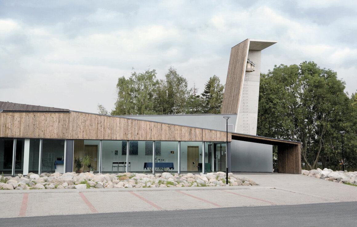 Viimsi St. James Church, Martin Aunin, 2007, Haabneeme, Estonia.