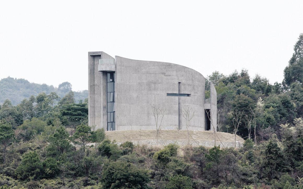 Church of Seed, O Studio, 2011, Luofu Mountain, Huizhou, Guangdong, China.