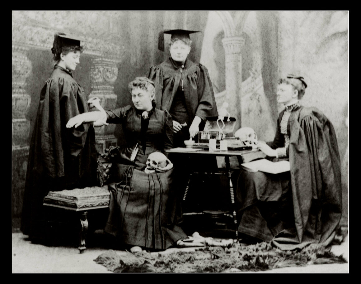 Four members of the class of 1893.
