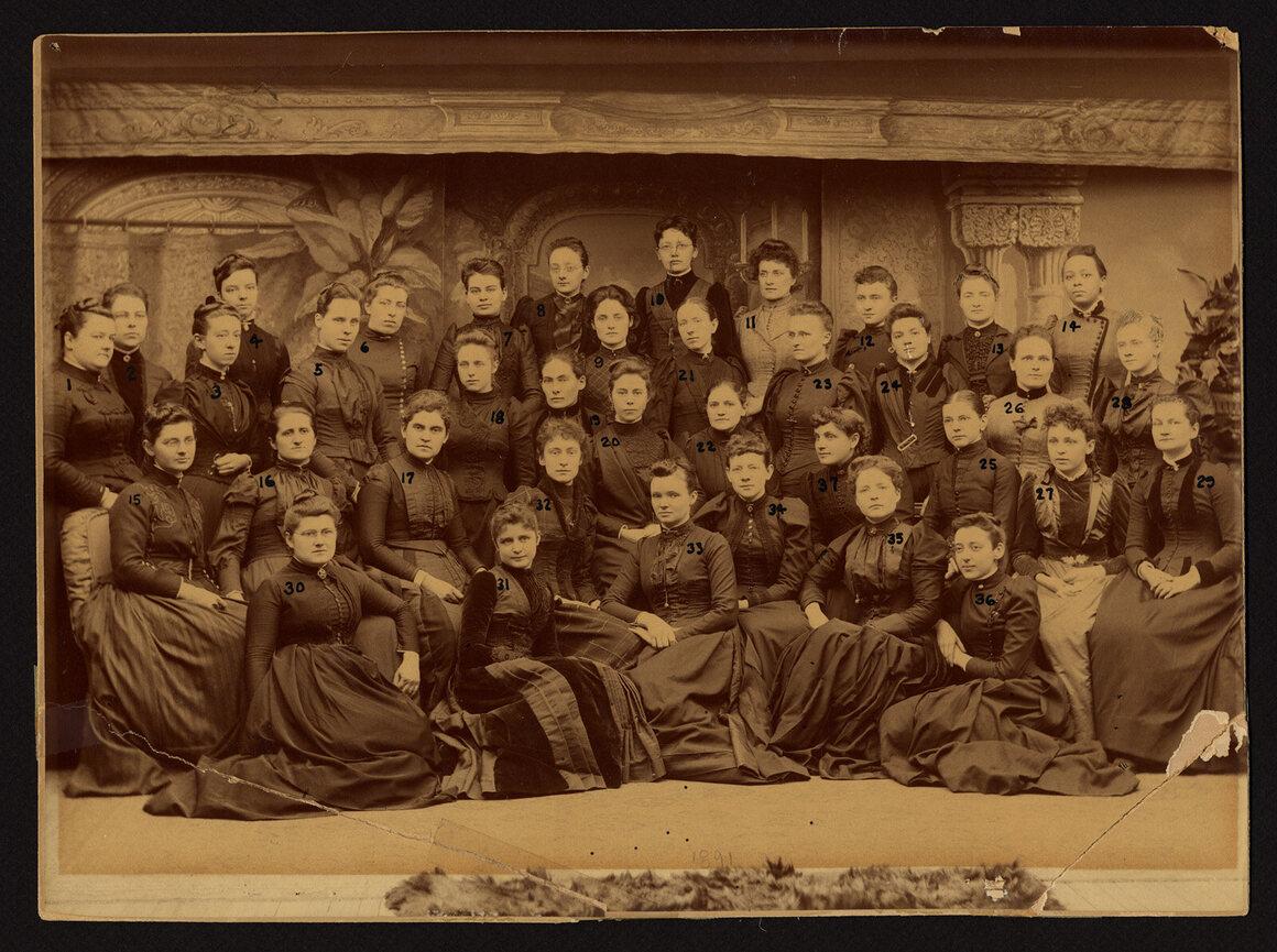The WMCP class of 1891.