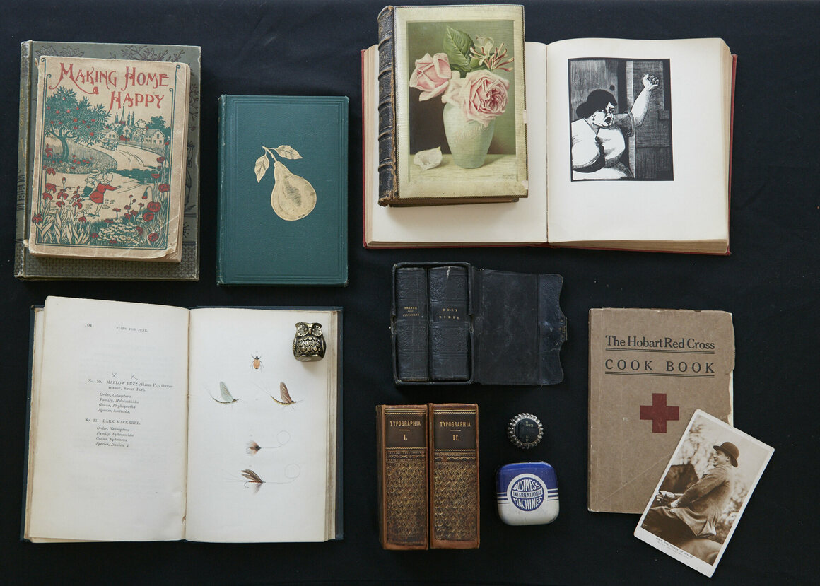 Some of the items available to buy at Wm. H. Adams Antiquarian Books.