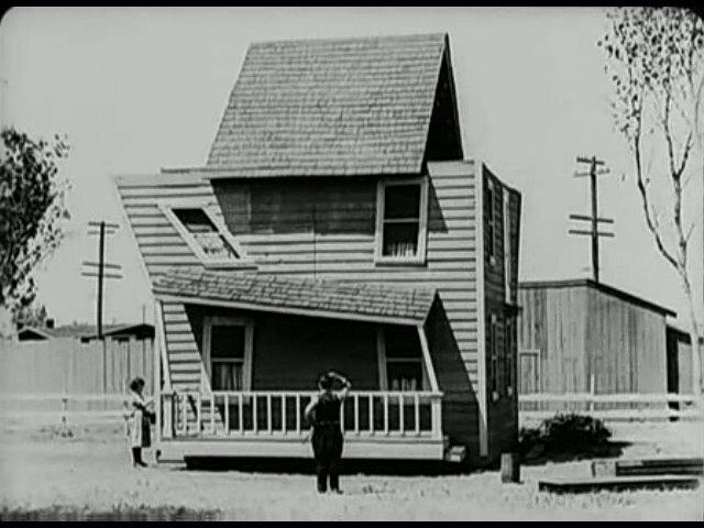 A still from Buster Keaton's <em>One Week</em>.