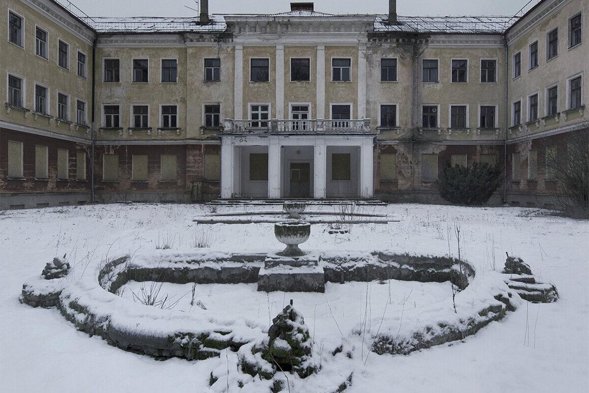 A school, Estonia.