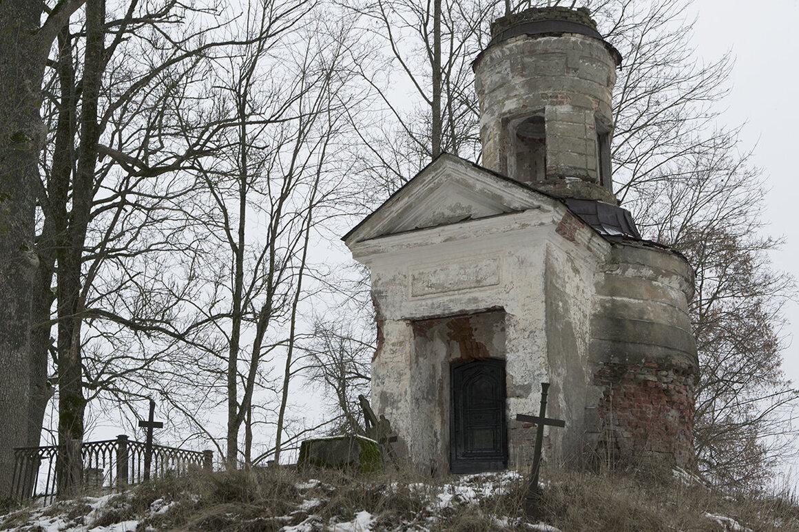 A church, Estonia.