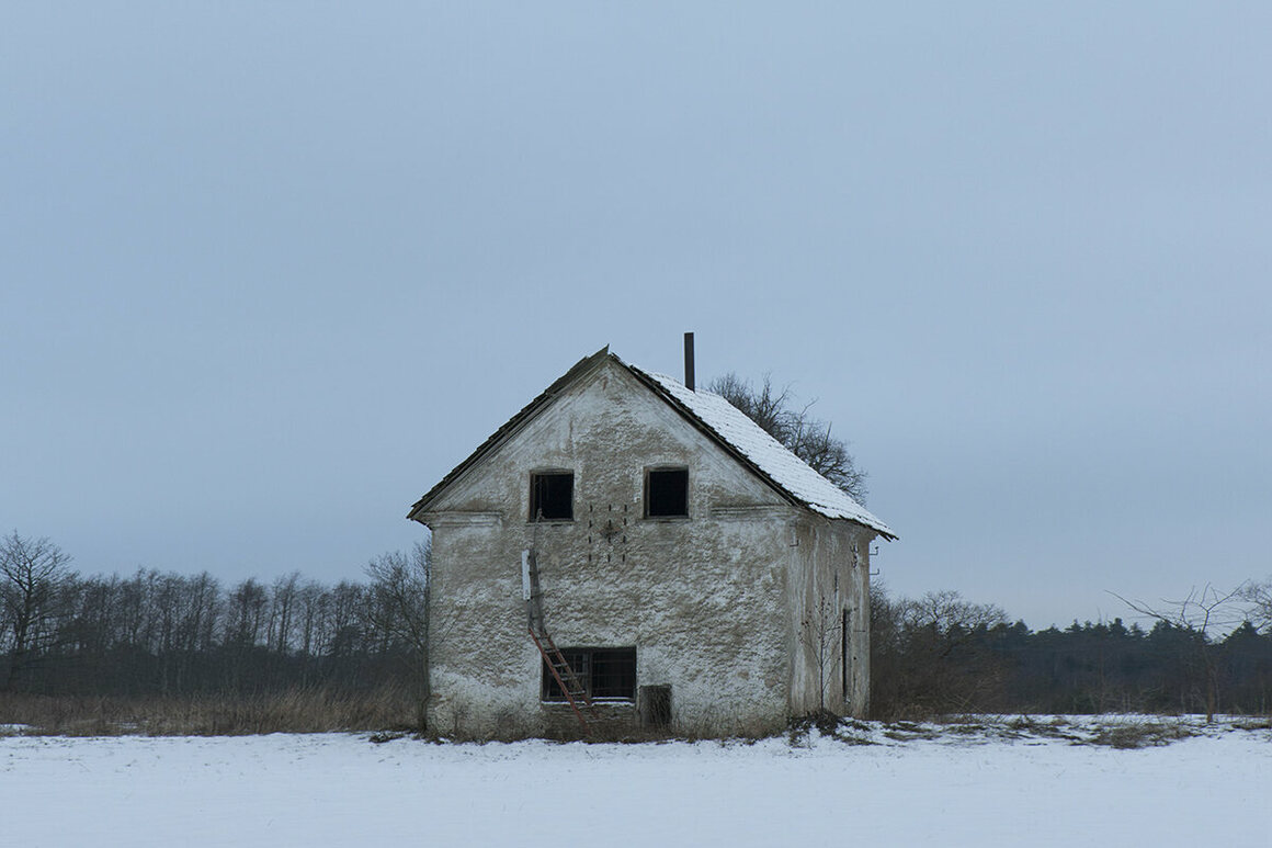 An old farmhouse, Estonia.