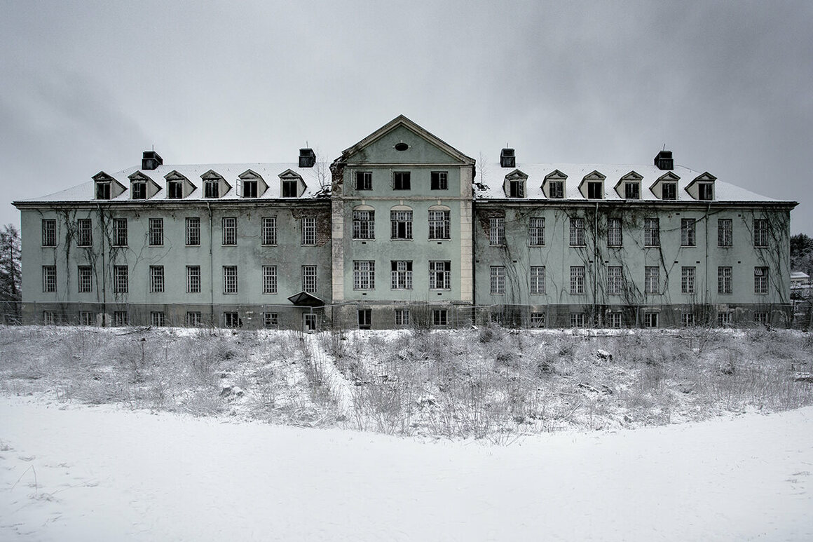 An old psychiatric hospital, Norway.