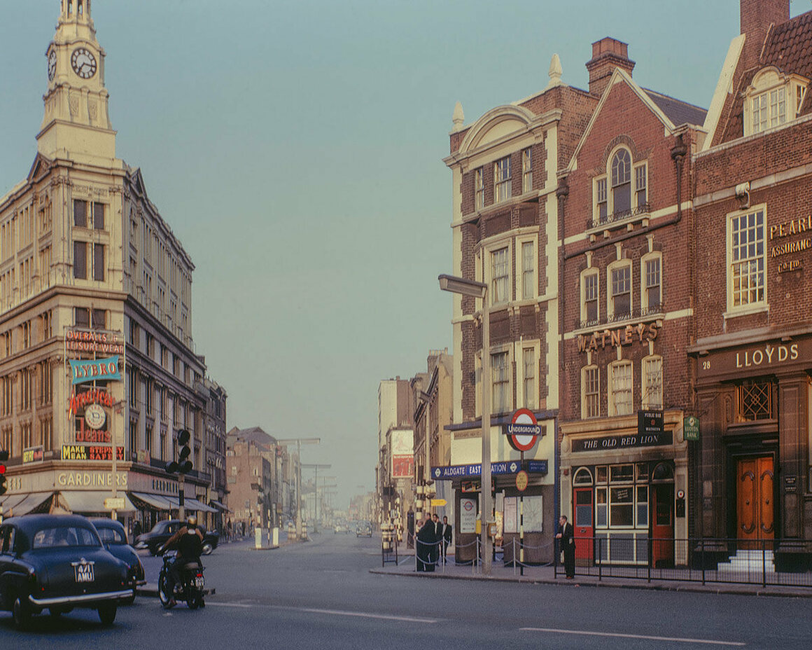 Gardiner's Corner, 1963.