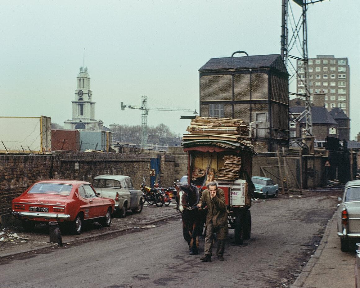 Three Colt Street, 1975.