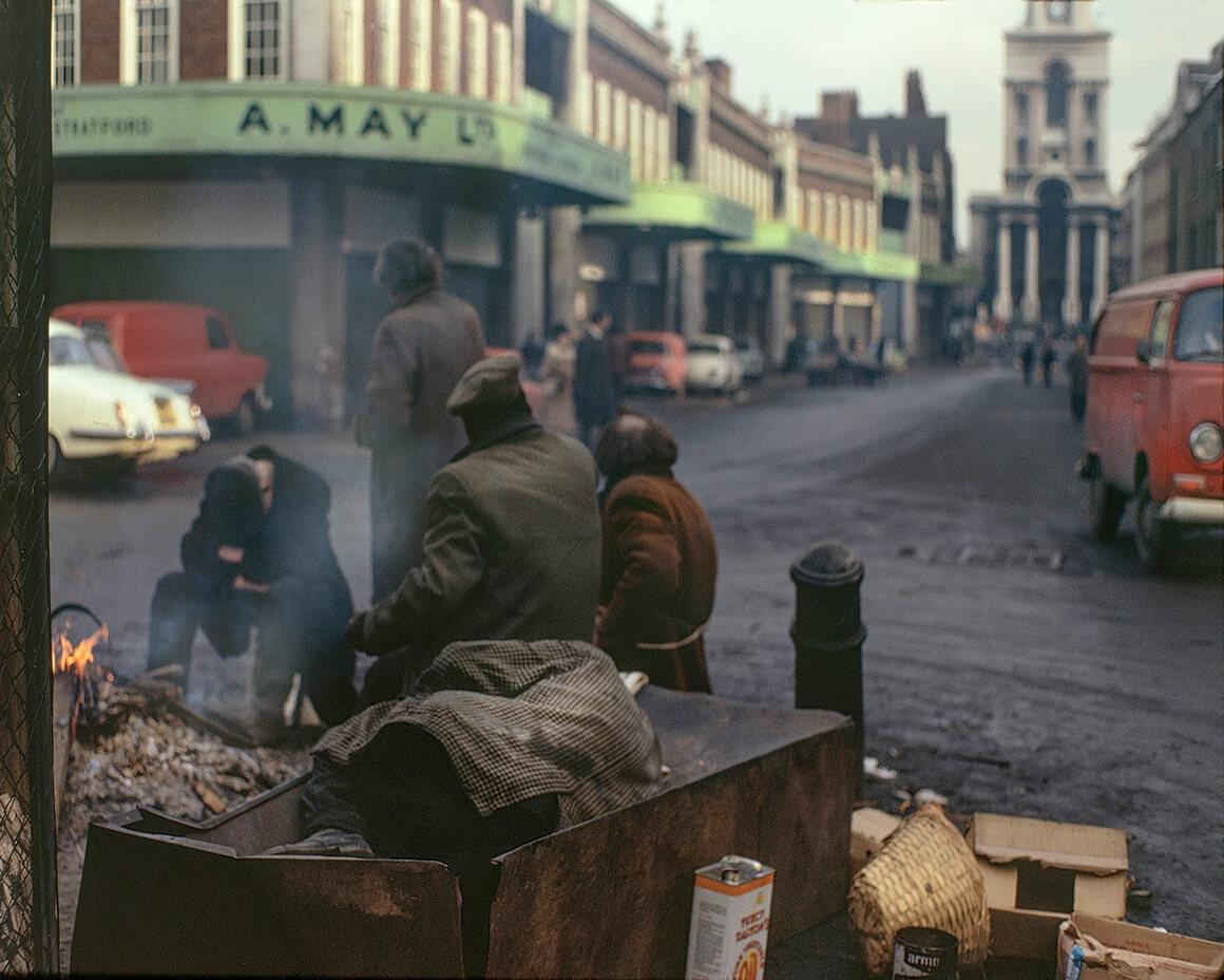 Spitalfields Market, 1973.