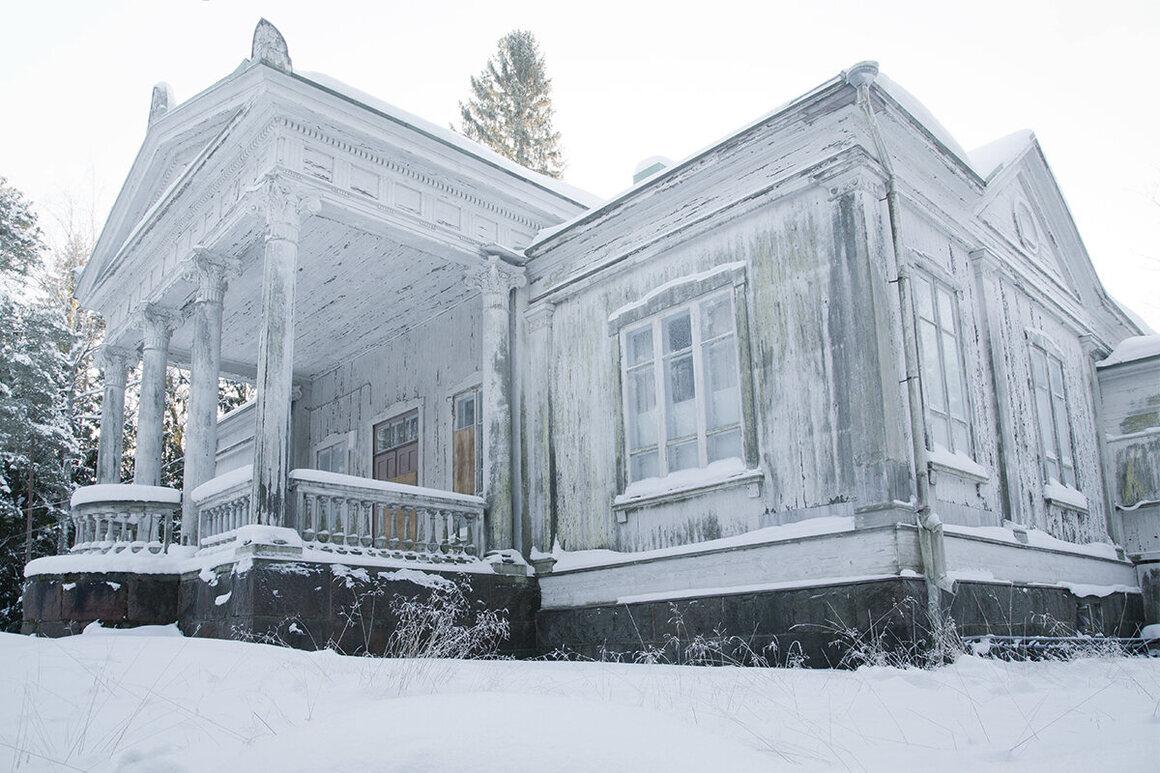 A villa in Finland.