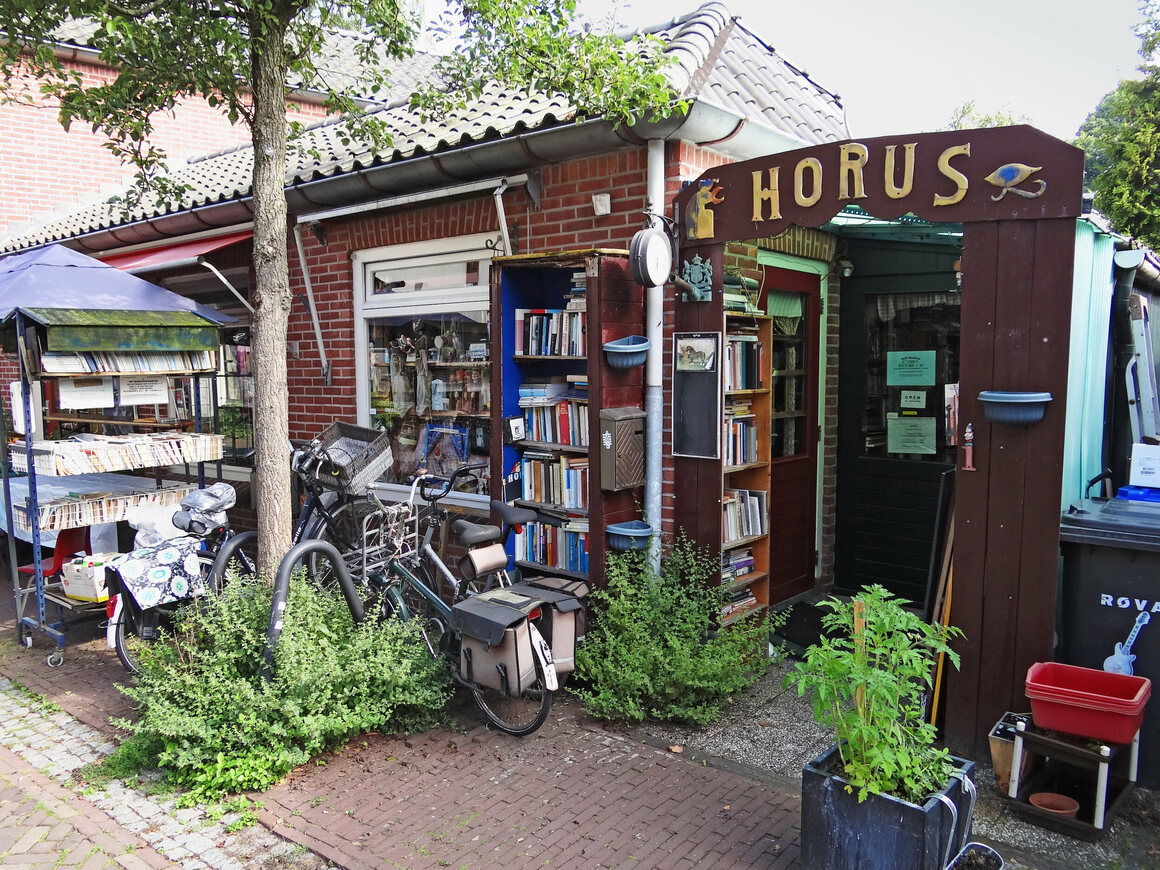A bookshop in Bredevoort, Netherlands.