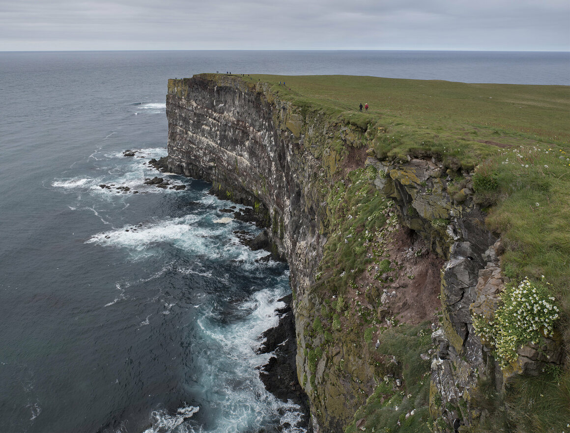Látrabjarg Cliffs.