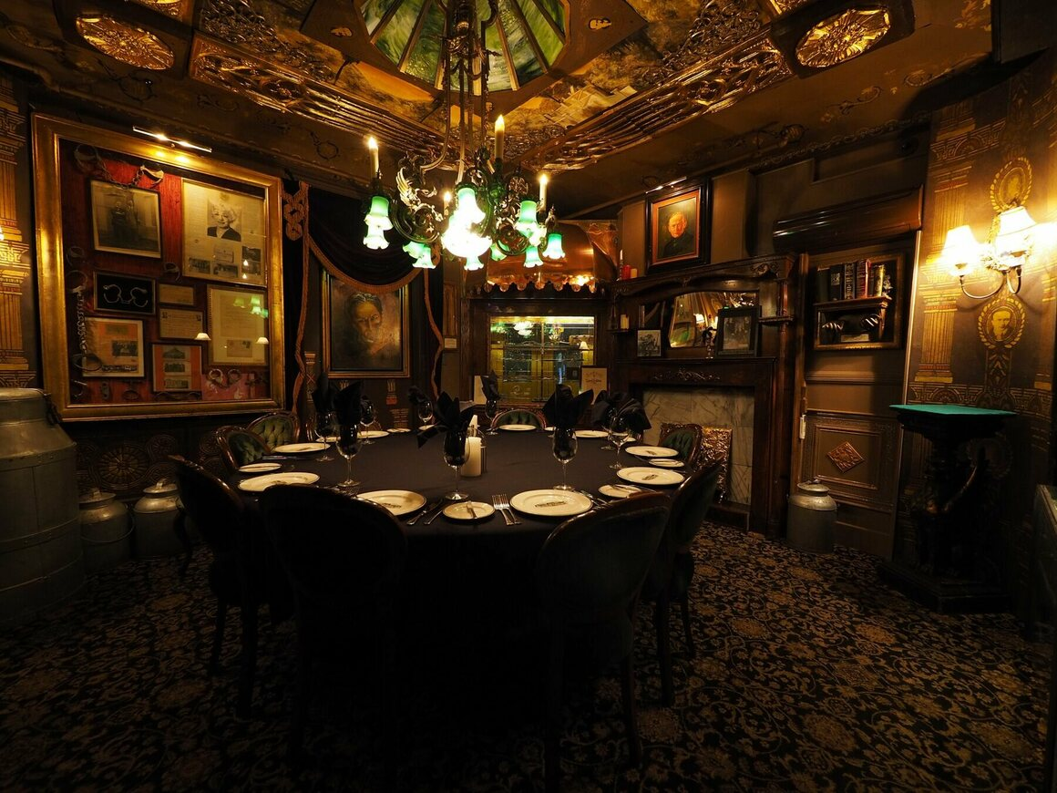 The Houdini Seance Room in the Magic Castle.