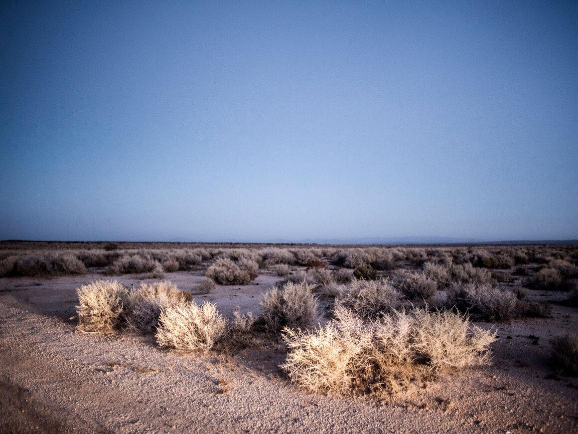 UFO sighting location, Nevada.