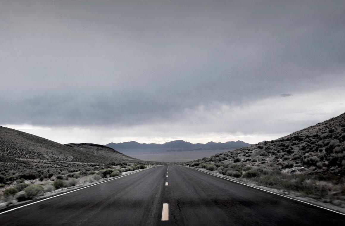 Extraterrestrial Highway, Nevada.