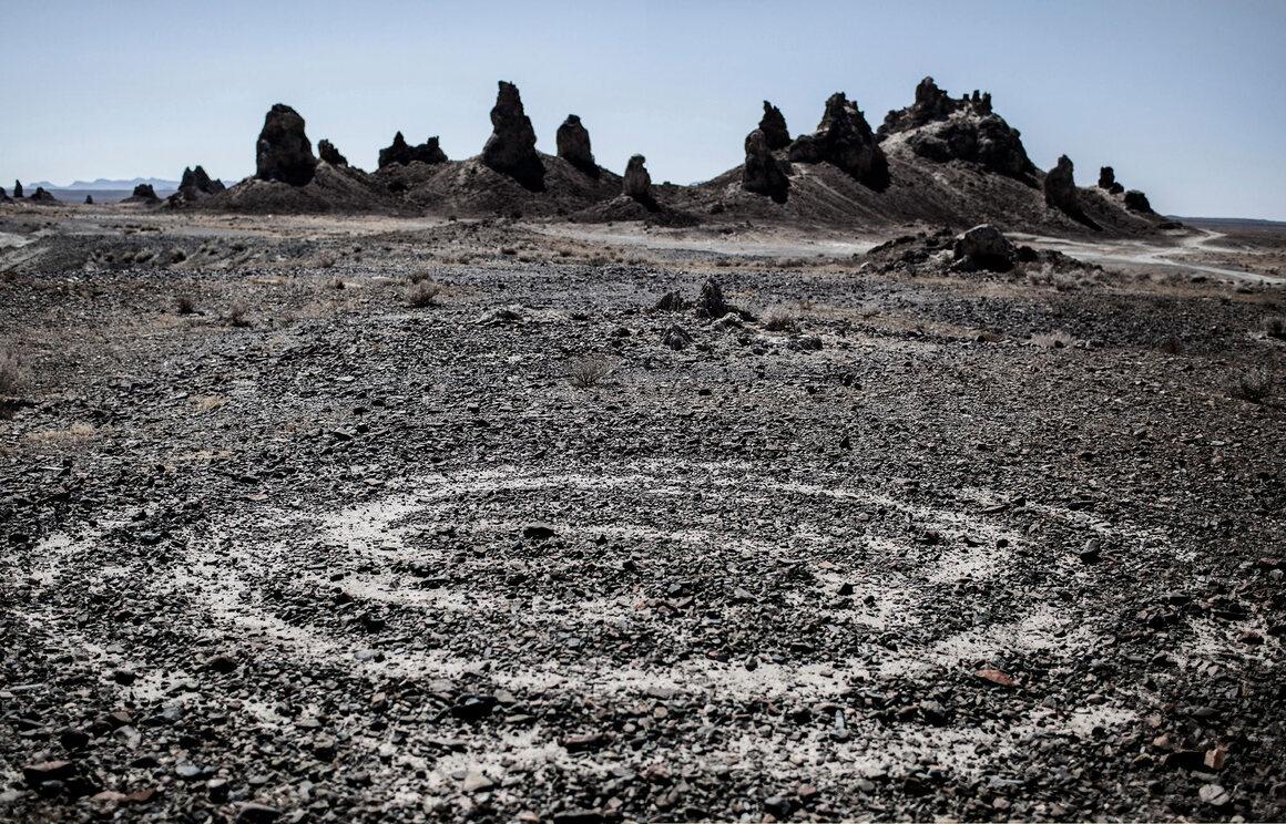 UFO sighting location, Death Valley, California.