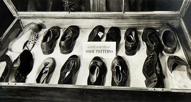 Examples of continental shoe patterns observed by the SOE.