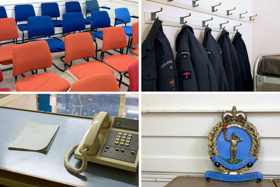 Descend Into Great Britains Network Of Secret Nuclear Bunkers Book Wiring Observation Room The York Headquarters Has Been Preserved And Includes Clockwise From Top Left Chairs