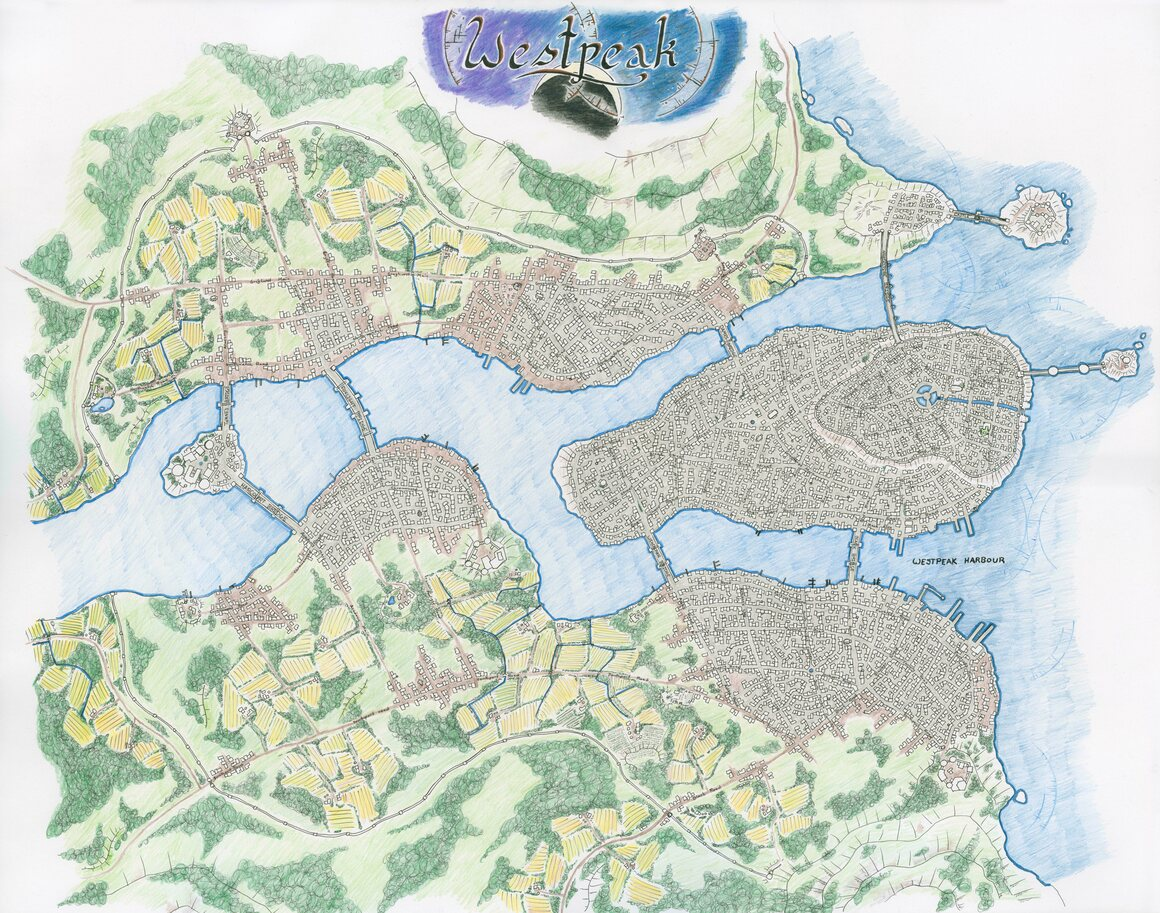 24 Amazing Homemade Dungeons Dragons Maps Atlas Obscura