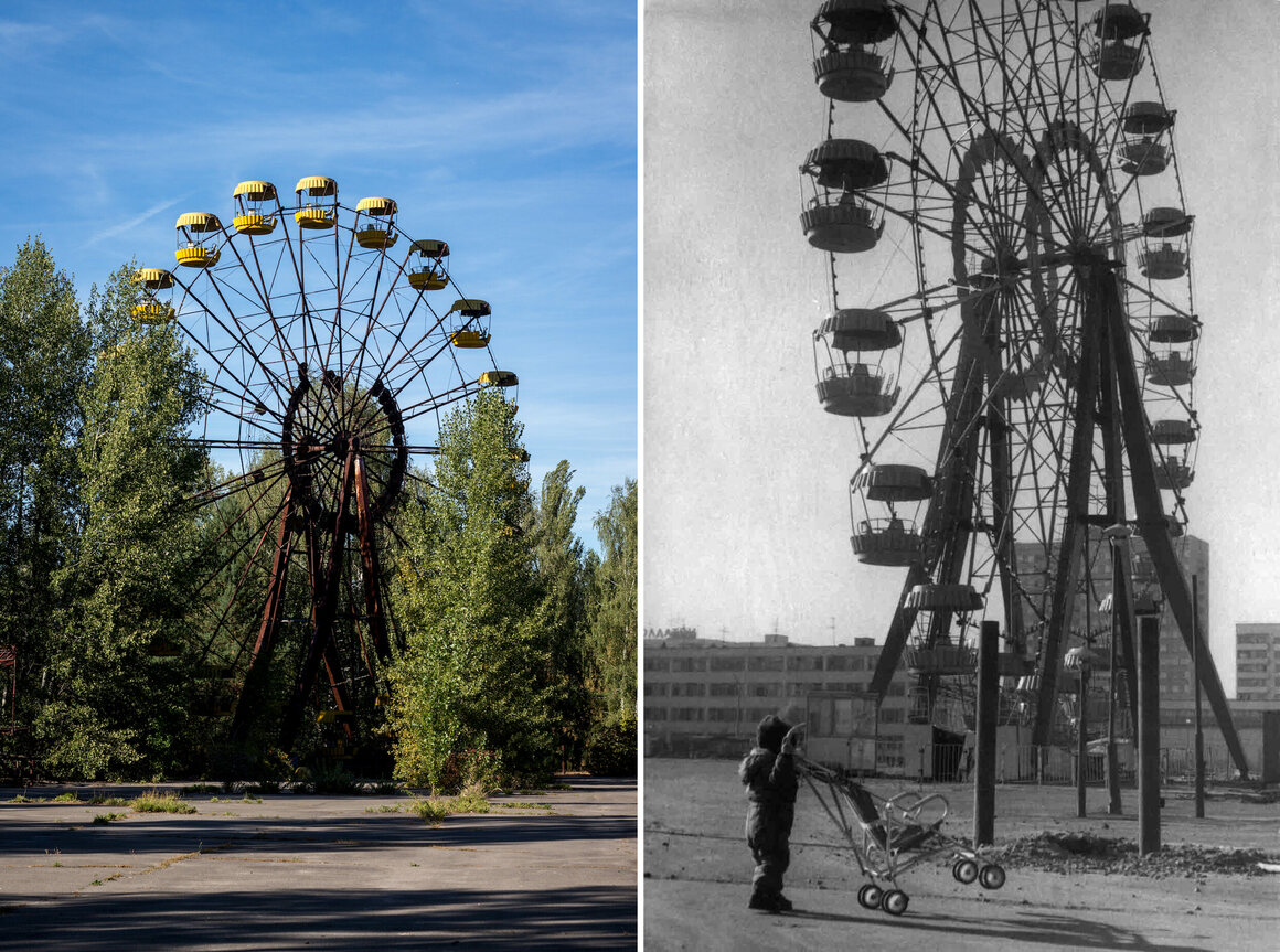 The City the Chernobyl Disaster Left Behind, Then and Now