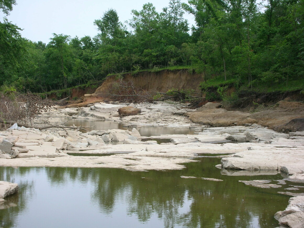 Devonian Fossil Gorge at Coralville,