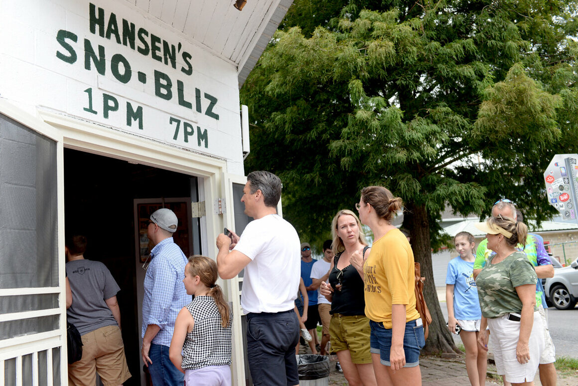 The line is just part of the Hansen's experience. Really!