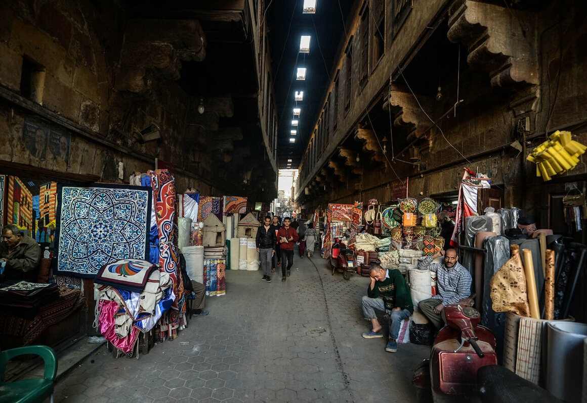 Foot traffic and tourism have slowed considerably since the Egyptian revolution of 2011.
