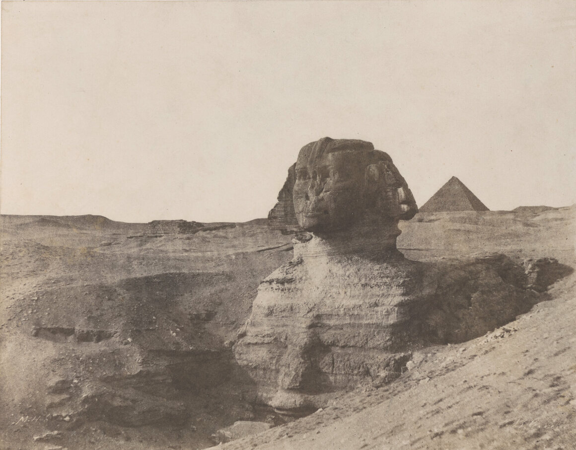 In many of Greene's images, including this one from 1853            or 1854, it's hard to puzzle out a sense of scale.