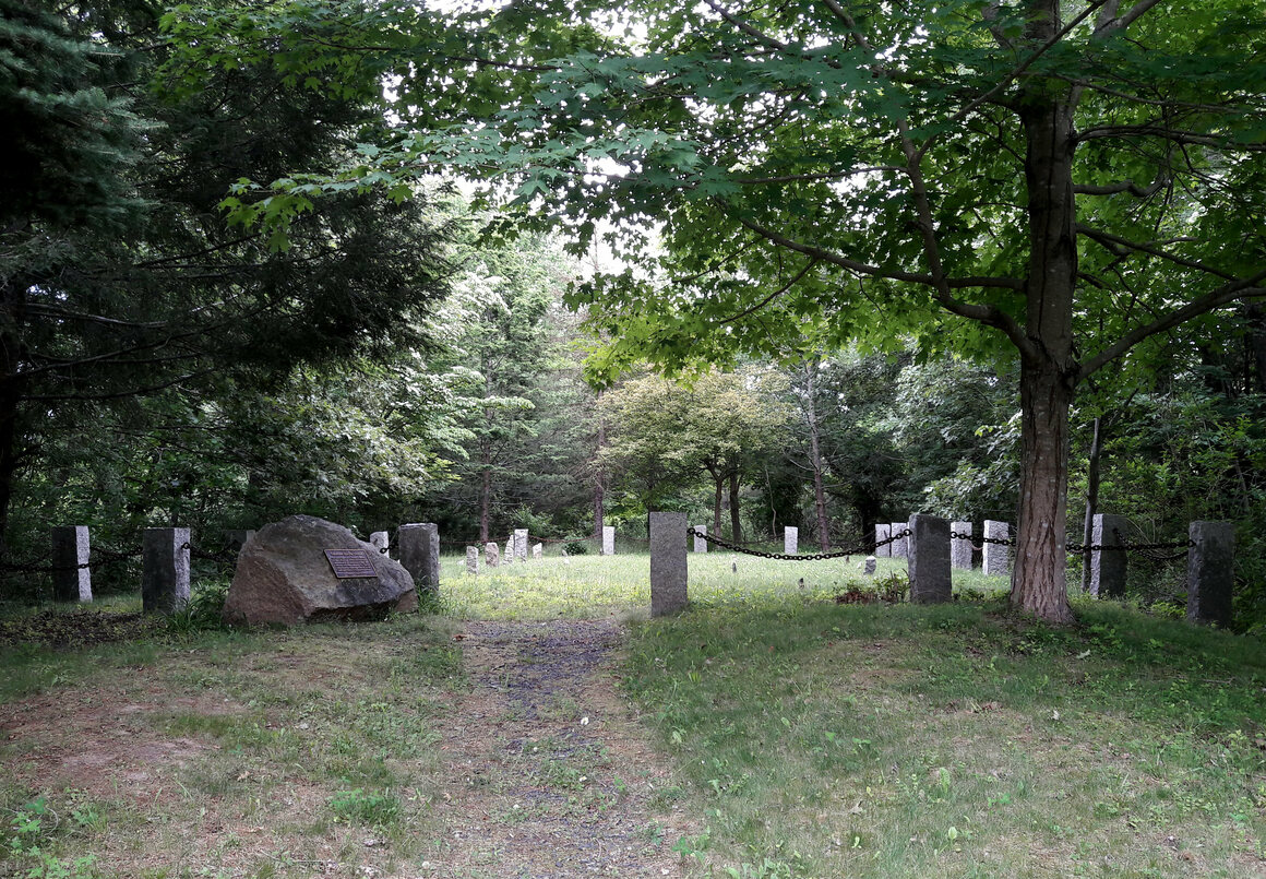 The New Almshouse Cemetery.