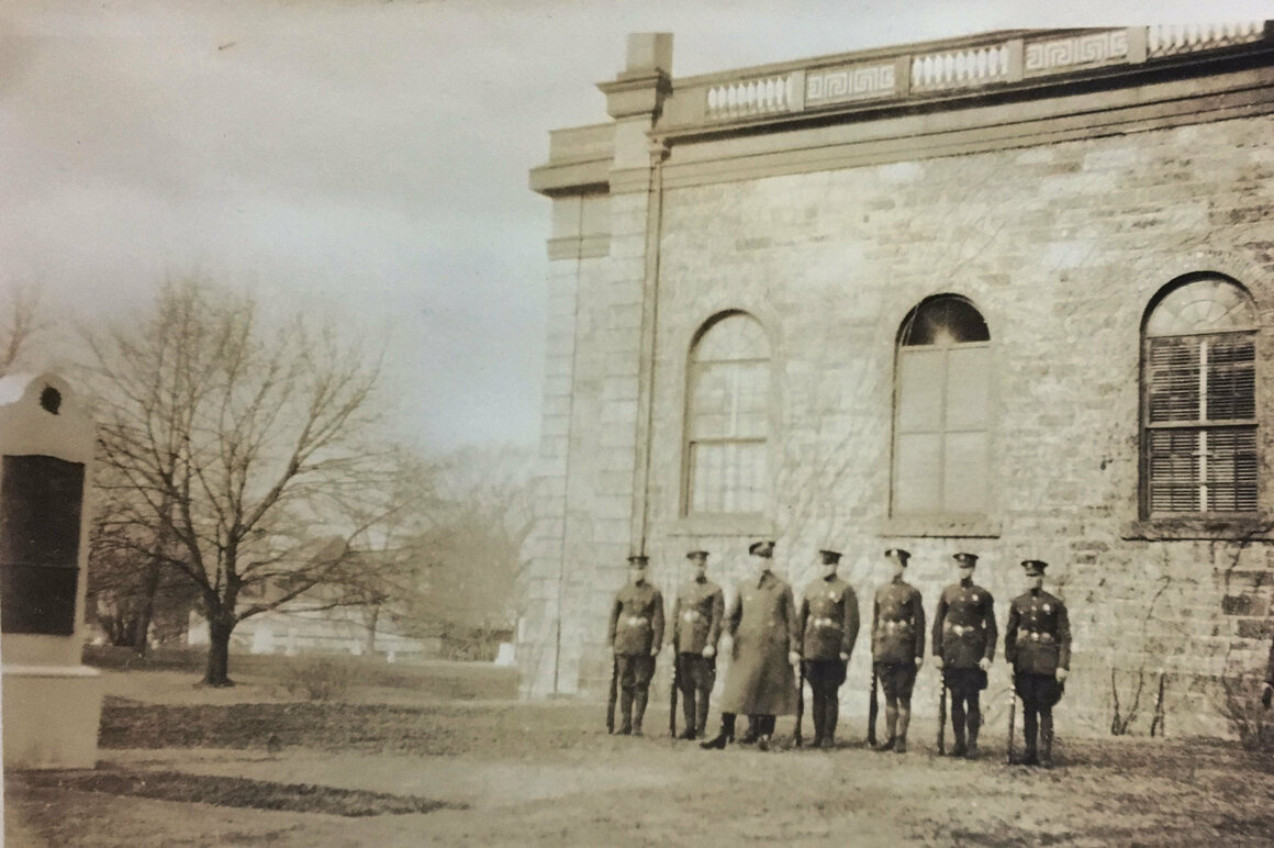 In 1926, the remains from Highland Park were reinterred at West Point, and sat at the foot of the Margaret Corbin monument until 2016.
