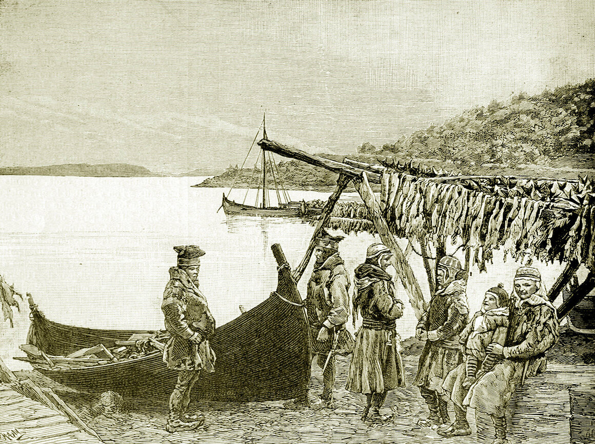 Norwegians, including the indigenous Sámi, have been drying cod for centuries.
