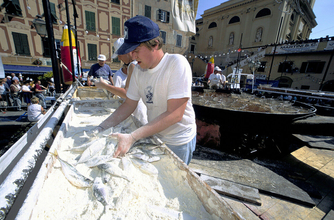 Stockfish festivals abound in Italy, where dried cod has been a part of the culinary culture for nearly 600 years.