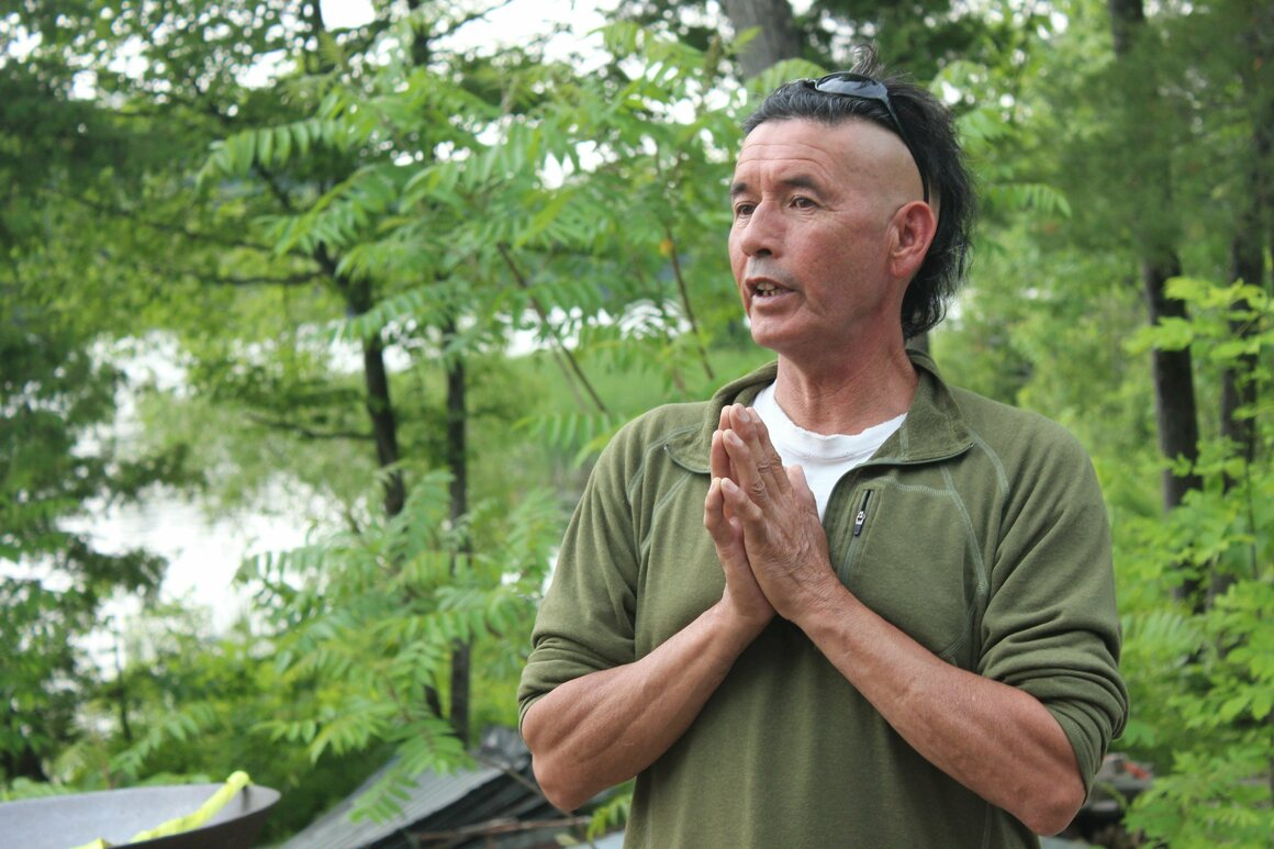 Whetung has grown wild rice for 30 years.