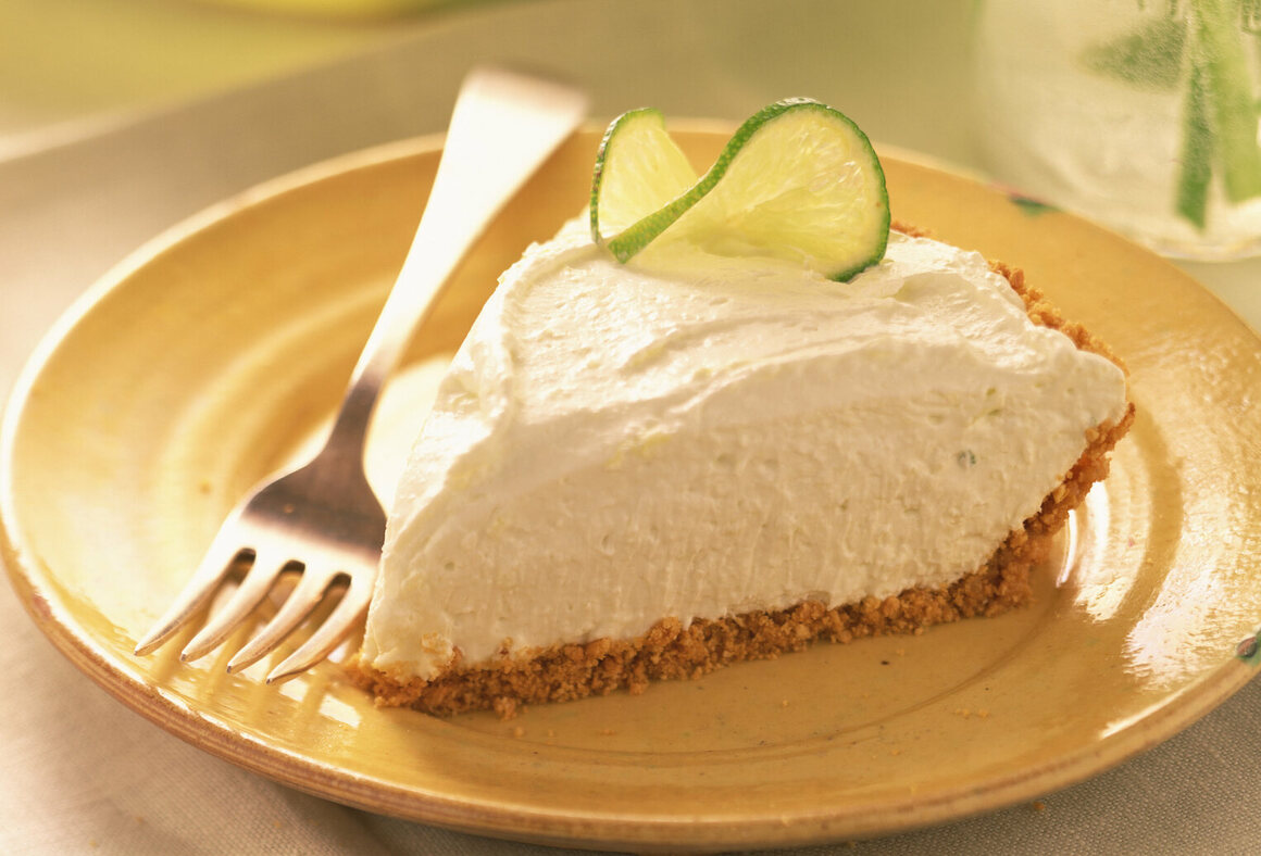 This lime chiffon pie with a graham-cracker crust wouldn't exist without Monroe Boston Strause.