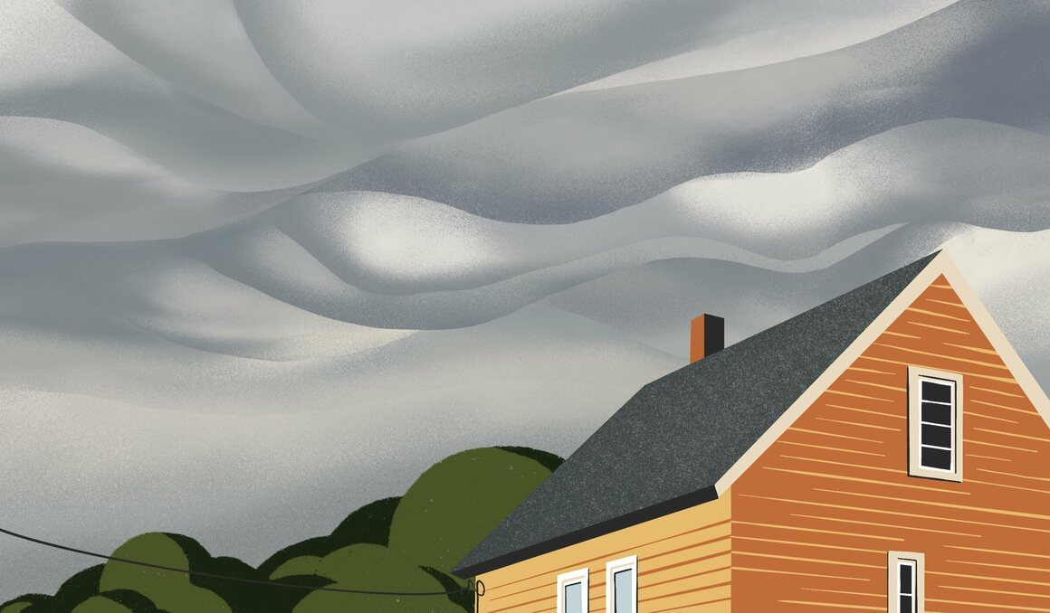 Asperitas clouds are a newish classification.
