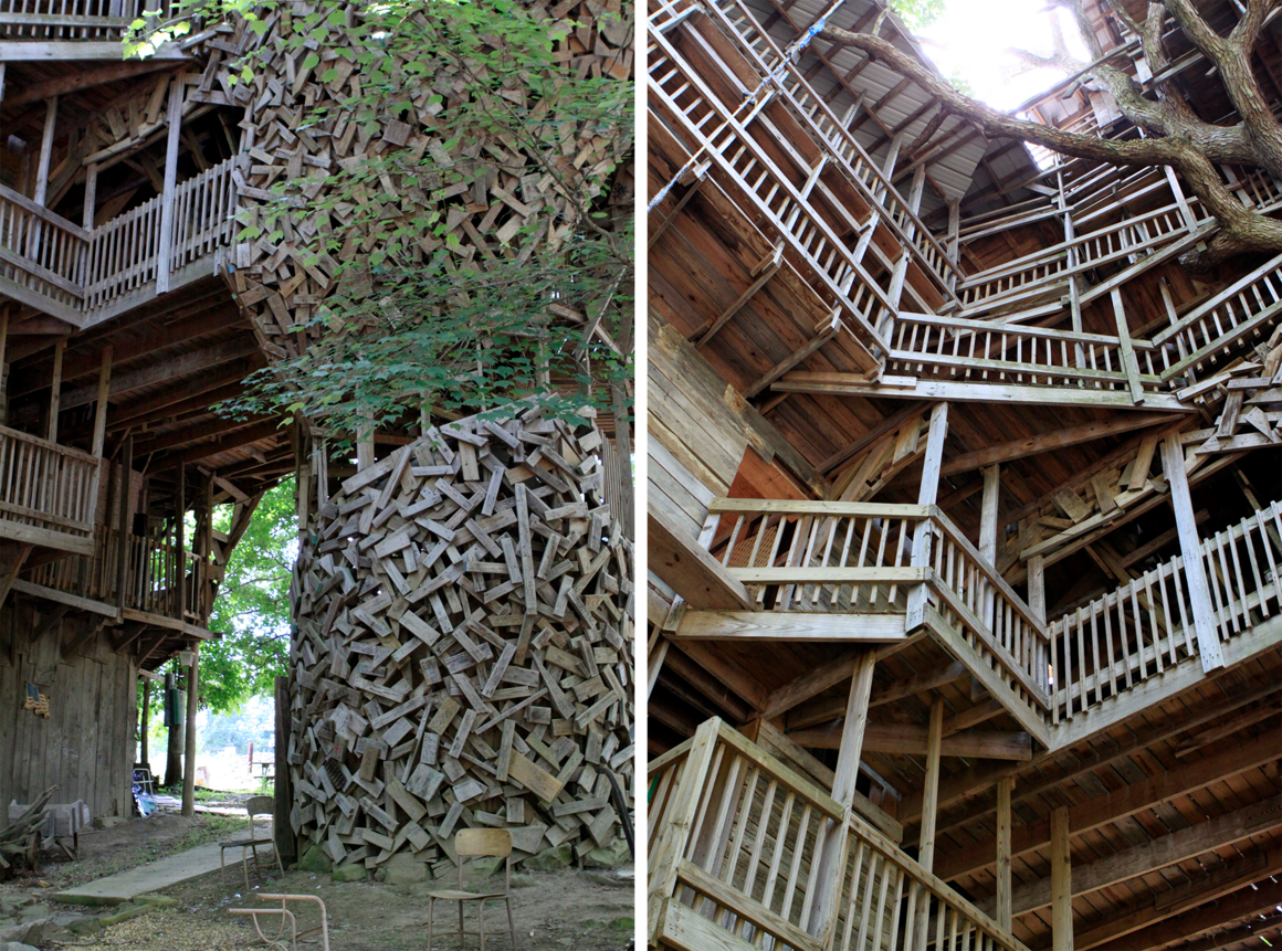 Picture of: The Life And Fiery Death Of The World S Biggest Treehouse Atlas Obscura