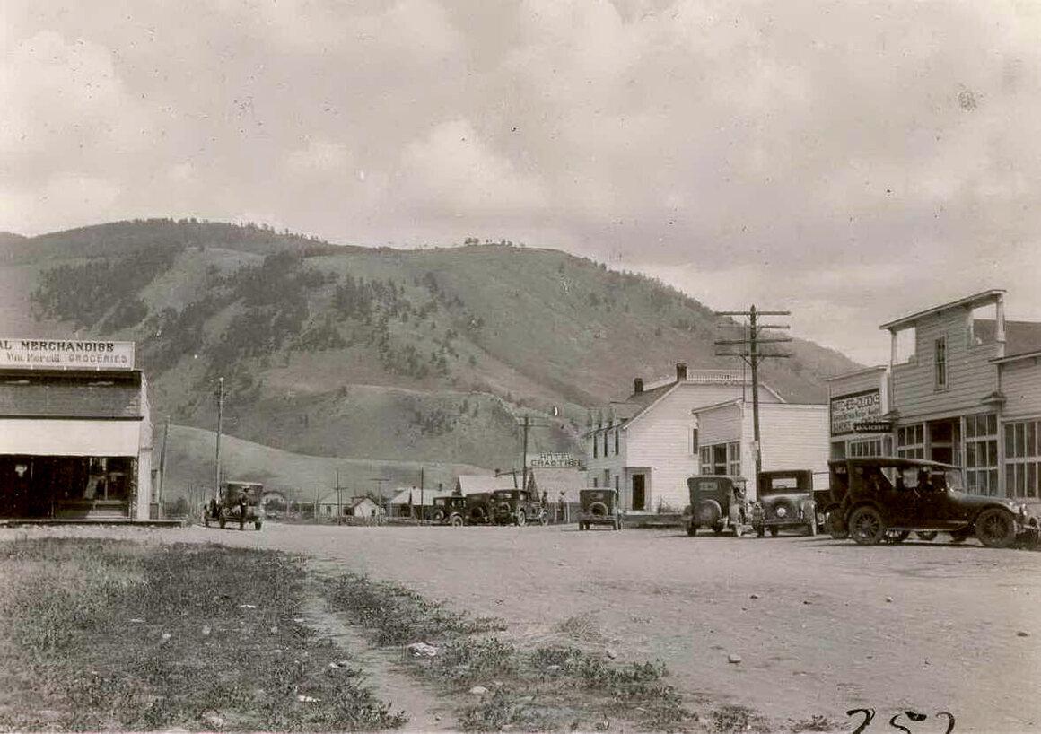 That was then: Main Street circa 1920.