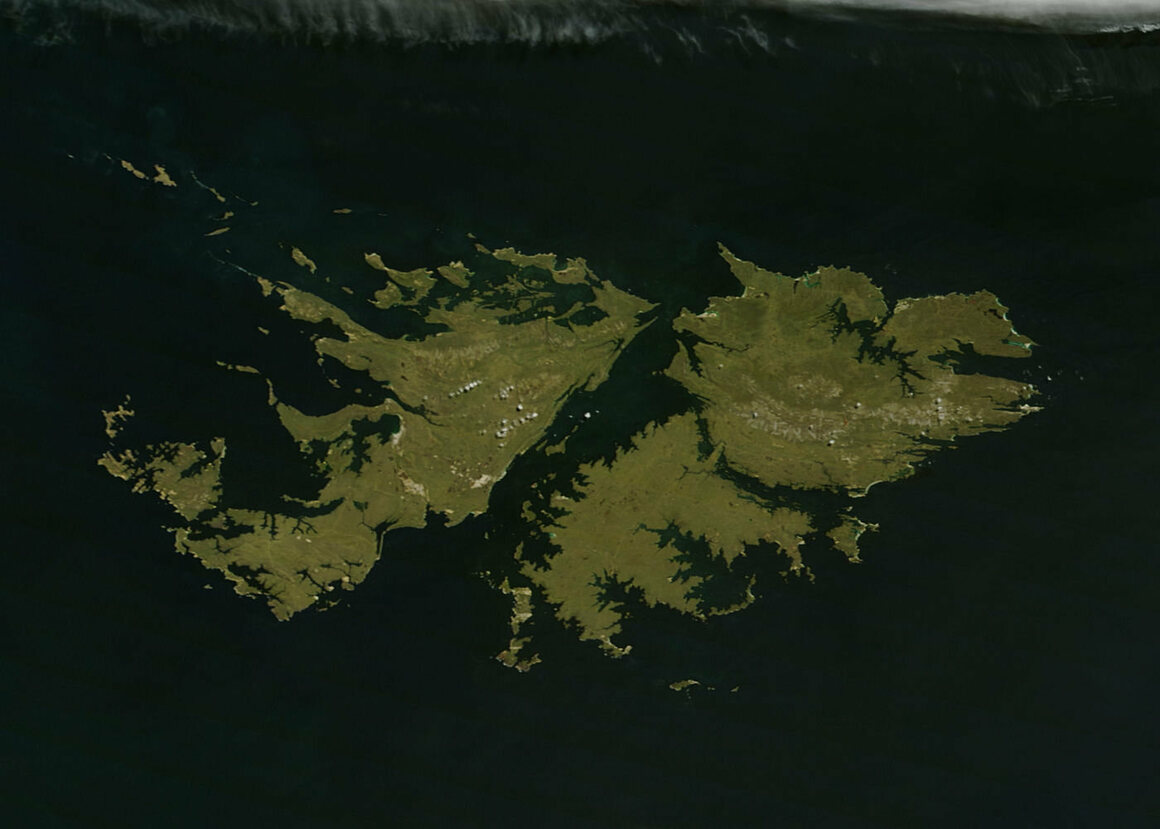 The Falkland Islands, where a charismatic variety of deep sea worm was recently discovered.