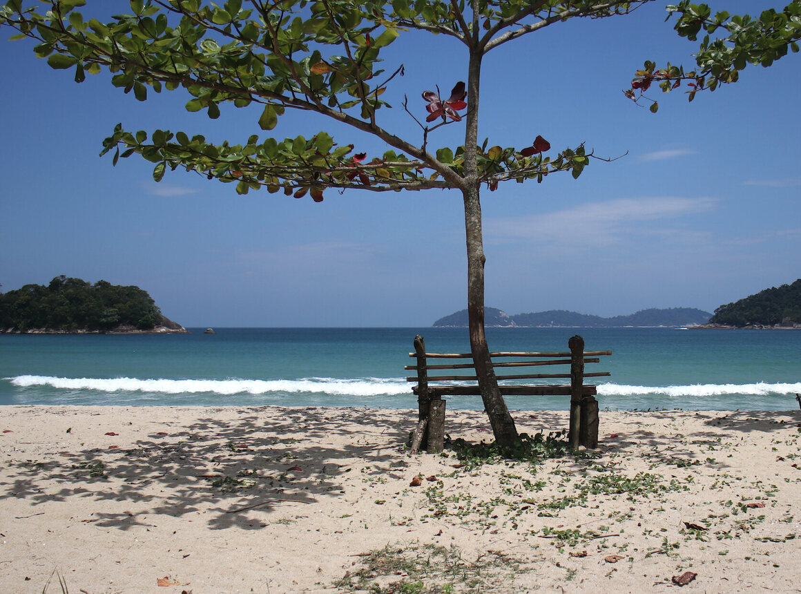 Dois Rios has dazzling beaches, but they're only reachable on foot or by boat.