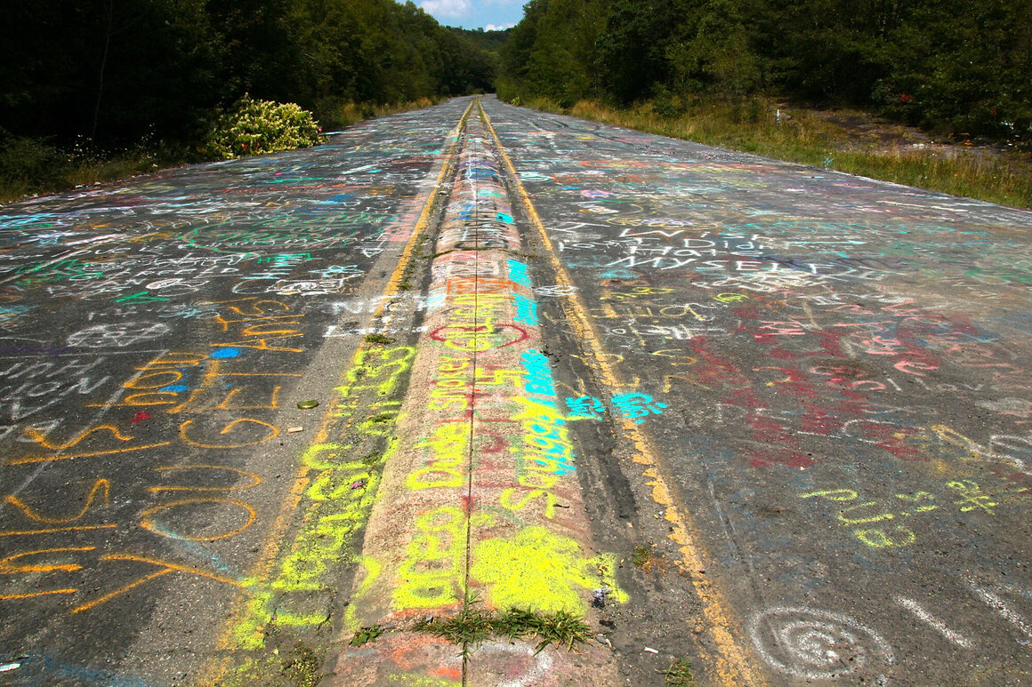 The Graffiti Highway had become a destination in its own right.